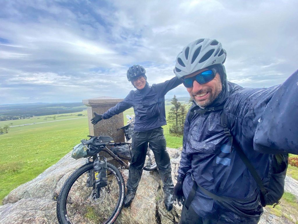 BikePackingTransgermany im Regen