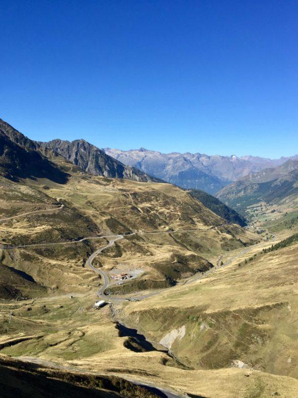 West-Auffahrt zum Col du Tourmalet - Pyrenäen Durchquerung Rennrad